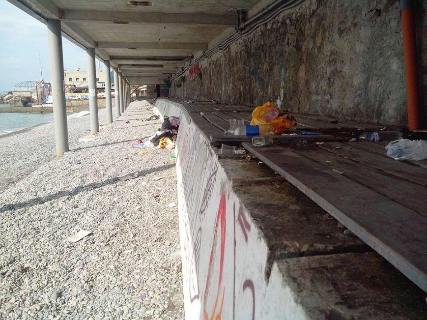 Крымские пляжи утопают в мусоре. Власти республики получают массу жалоб от жителей и гостей полуострова (ФОТО), фото-3