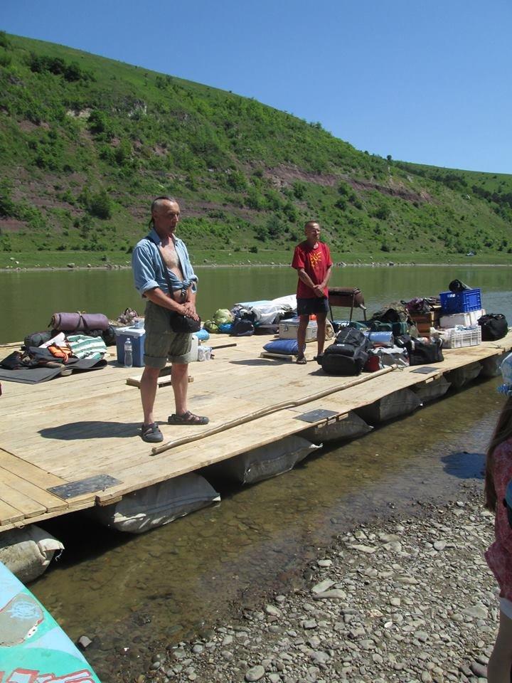 Для тернопільських бійців АТО та їхніх сімей влаштували незабутній сплав по річці Дністер (фото) (фото) - фото 1