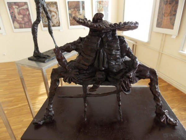 В Витебске проходит выставка графики и скульптуры Александра Шаппо, фото-1