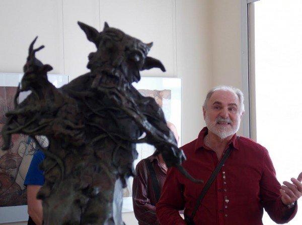 В Витебске проходит выставка графики и скульптуры Александра Шаппо, фото-5