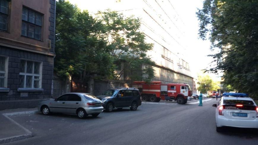 В Днепропетровске пожар в металлургической академии (фото) - фото 1