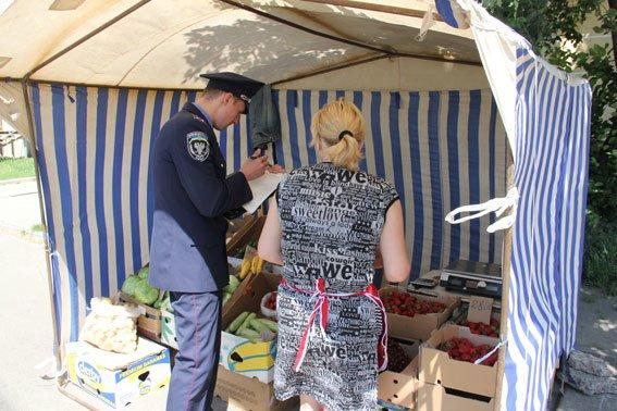 Незаконная торговля в Чернигове опять заинтересовала милицию (фото) - фото 1