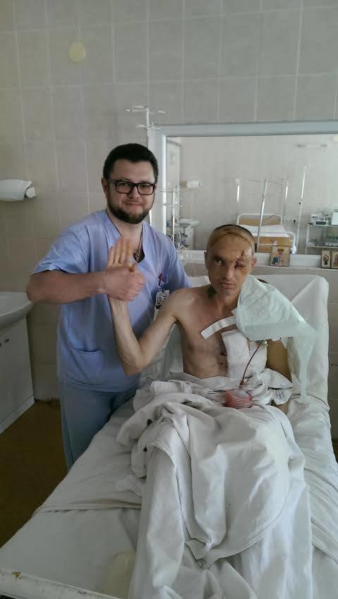 Боец одесской мехбригады потерял глаз в Марьинке (ФОТО) (фото) - фото 1
