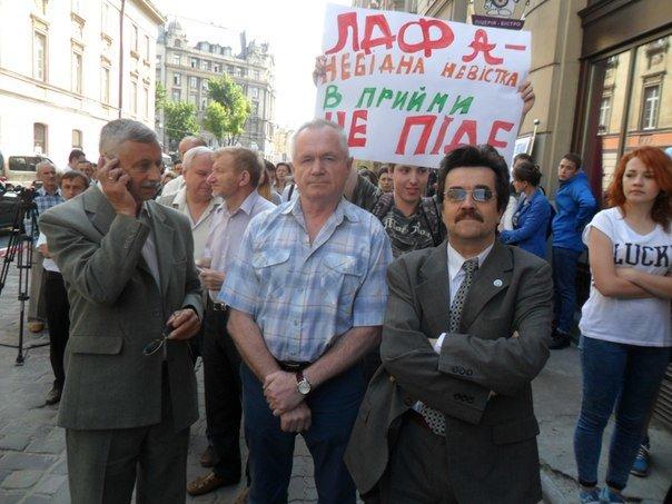 «Нас не питали»: Львівські студенти збунтувалися через закриття їхнього вишу (ФОТО+ВІДЕО), фото-1