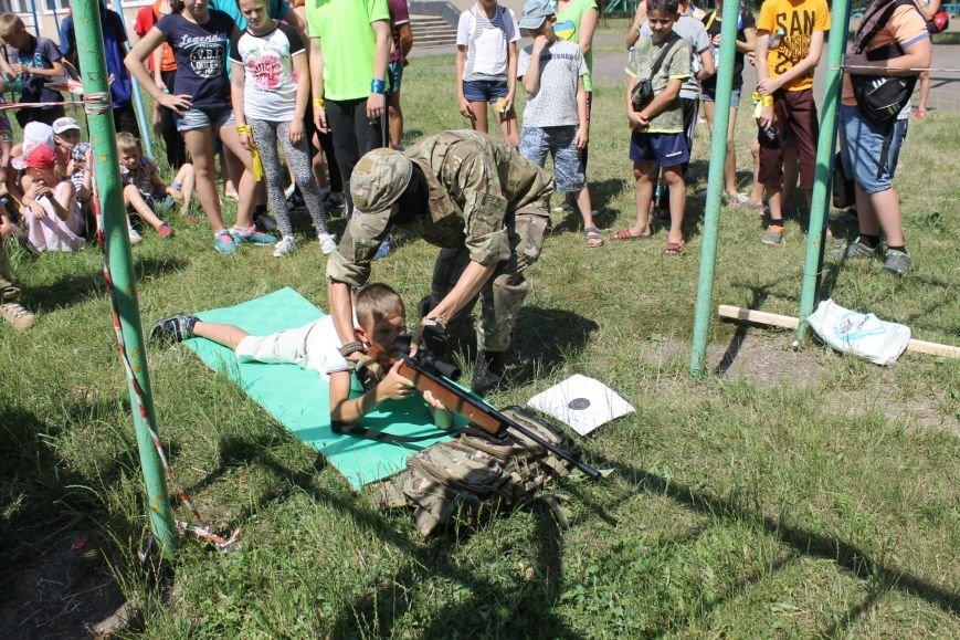 В Кривом Роге на каникулах для школьников провели урок патриотического воспитания (ФОТО), фото-11