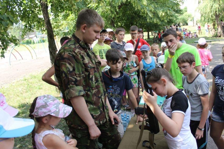 В Кривом Роге на каникулах для школьников провели урок патриотического воспитания (ФОТО), фото-17