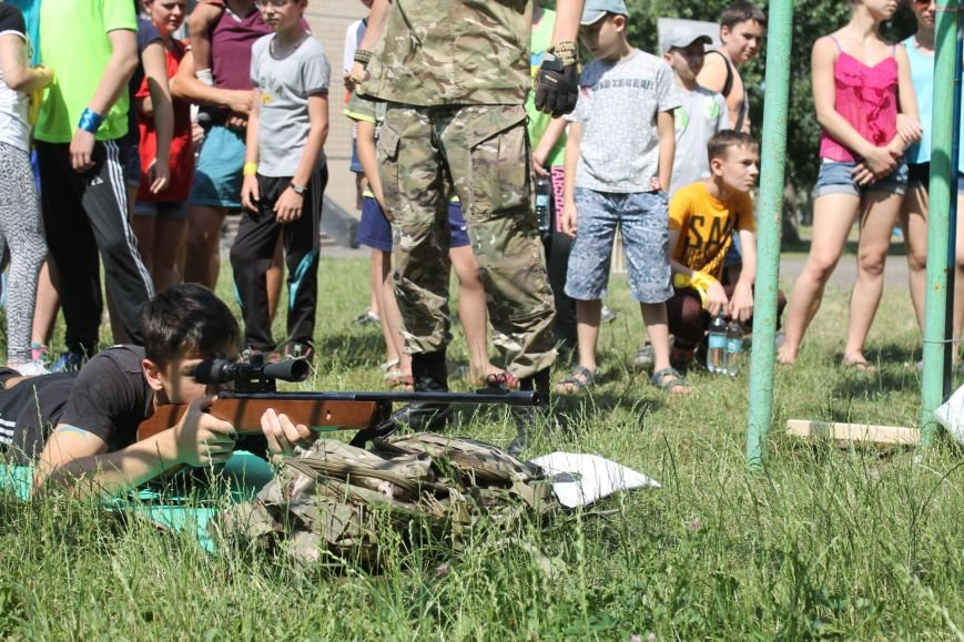 В Кривом Роге на каникулах для школьников провели урок патриотического воспитания (ФОТО), фото-9