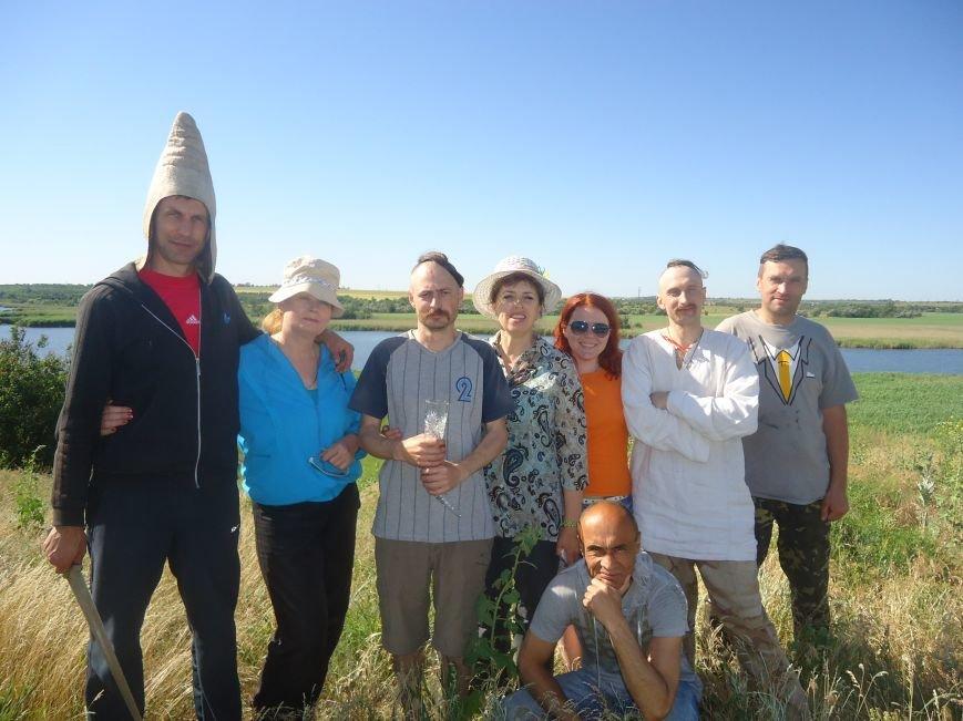 Про старовинний козацький ритуал «Поминки Січі» (фото) - фото 1