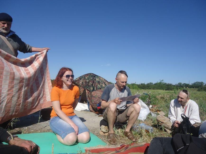 Про старовинний козацький ритуал «Поминки Січі» (фото) - фото 4