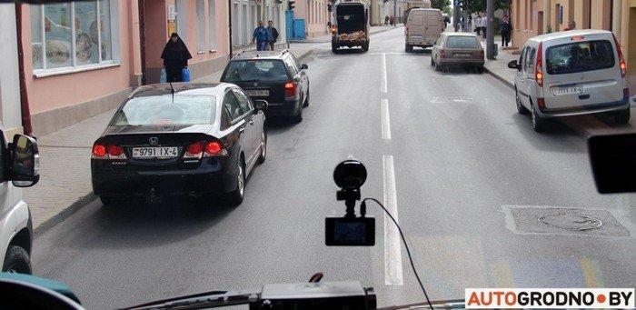Фоторепортаж: водителей Гродно проверяли насколько быстро они уступают дорогу пожарным машинам (фото) - фото 3