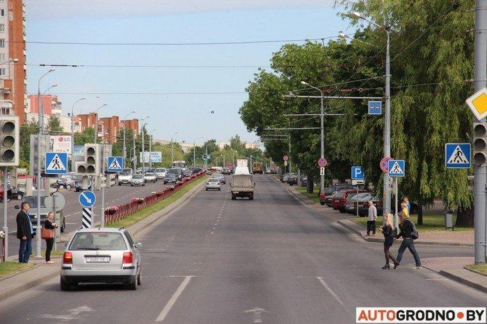 Фоторепортаж: водителей Гродно проверяли насколько быстро они уступают дорогу пожарным машинам (фото) - фото 8