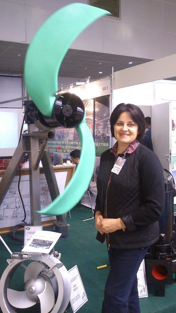 Белореченские экологи посетили Международную выставку по управлению отходами, фото-3
