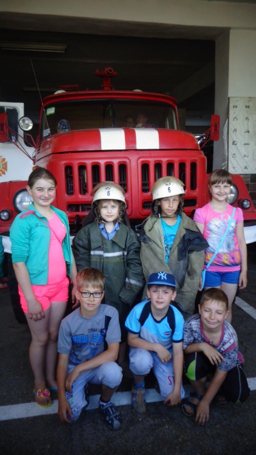 На Сумщине дети присоединились к профессии спасателя (ФОТО) (фото) - фото 1