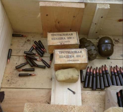 В Днепропетровскую область из зоны АТО пытались ввезти оружие (фото) - фото 1
