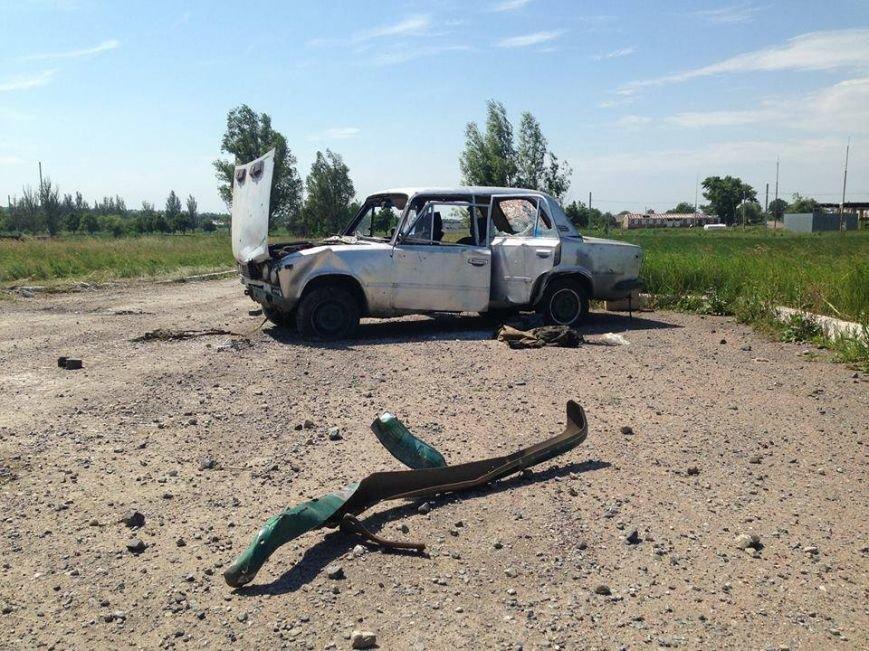 Марьинка после боя. Одесские бойцы показали, где прошло самое тяжелое столкновение (ФОТО) (фото) - фото 1