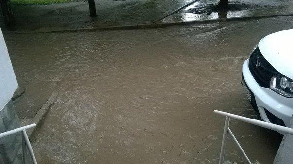 Симферополь третий день заливает дождями (ФОТО, ВИДЕО) (фото) - фото 3