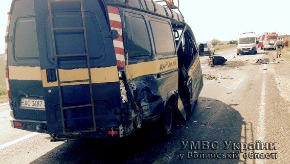 У результаті ДТП загинув працівник дорожньої служби (+ФОТО) (фото) - фото 1