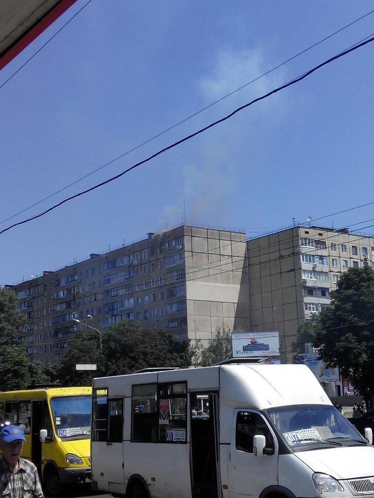 Киворожане сообщают в соцсетях, что «Юбилейный горит» (ФОТО) (фото) - фото 1