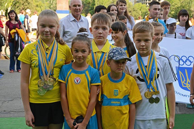 Николаев торжественно провел спортсменов на Первые Европейские Олимпийские игры (ФОТОРЕПОРТАЖ), фото-17