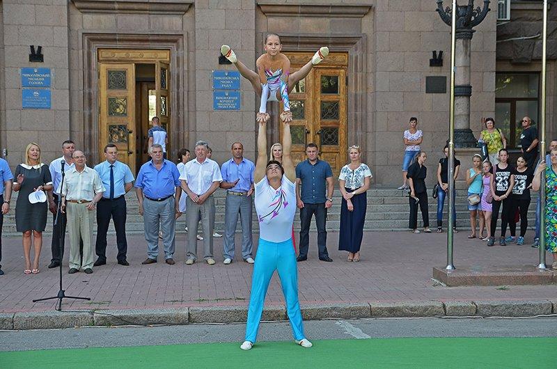 Николаев торжественно провел спортсменов на Первые Европейские Олимпийские игры (ФОТОРЕПОРТАЖ), фото-8