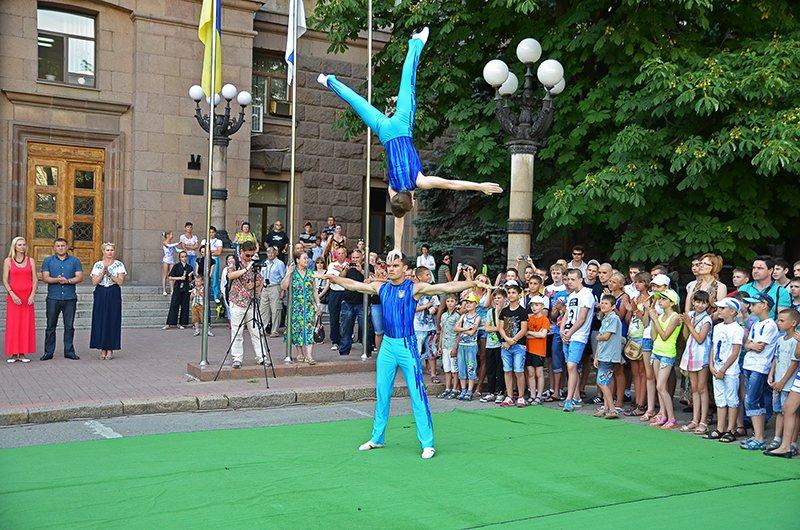 Николаев торжественно провел спортсменов на Первые Европейские Олимпийские игры (ФОТОРЕПОРТАЖ), фото-10