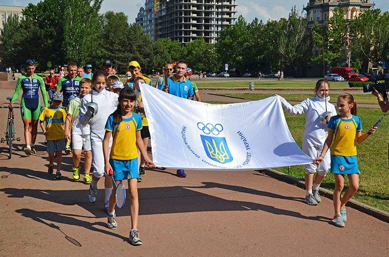 Николаев торжественно провел спортсменов на Первые Европейские Олимпийские игры (ФОТОРЕПОРТАЖ), фото-1