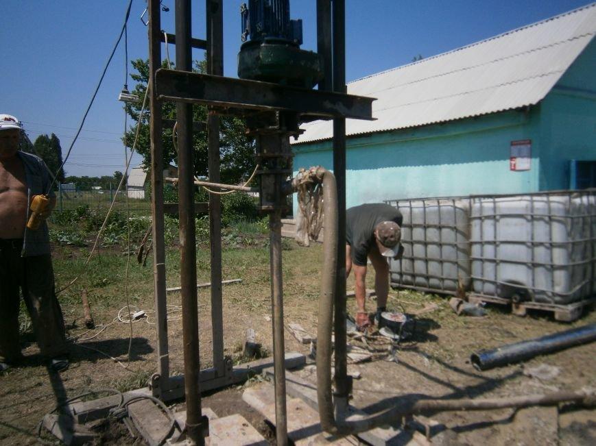В Димитрове началось бурение скважин на воду (ФОТО) (фото) - фото 3