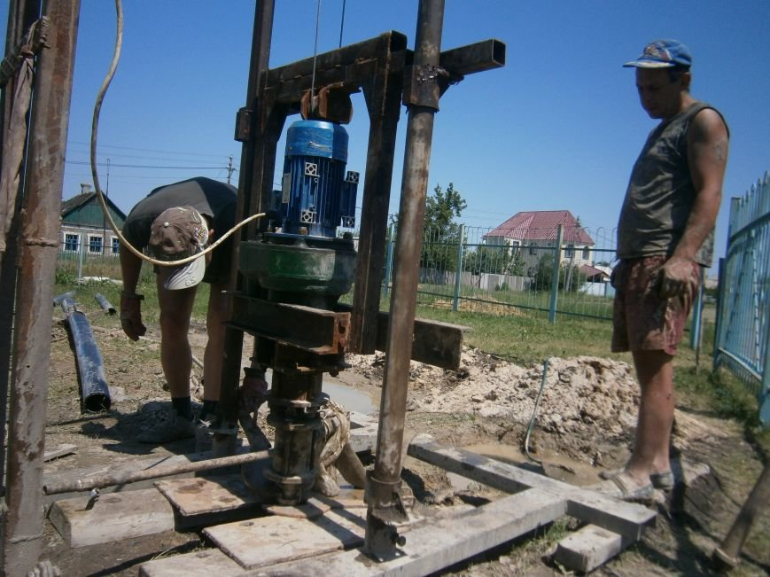 В Димитрове началось бурение скважин на воду (ФОТО) (фото) - фото 6