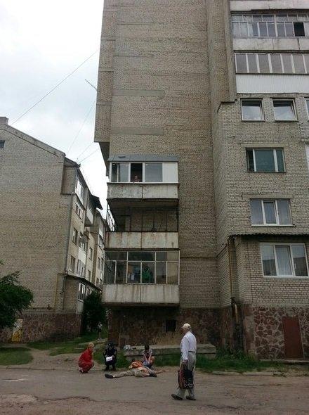 Іванофранківець серед дня стрибнув з даху 9-поверхівки (ФОТО) (фото) - фото 1