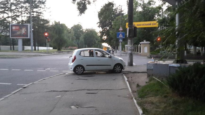 парковка хамы