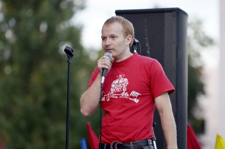 В Гомельской области установят рекорд по буксировке комбайна (фото) - фото 3