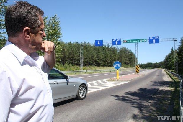 Репортаж с польско-белорусской границы: узкая дорога, 4,5 часа ожидания и «стукачество» поляков на белорусов (фото) - фото 1