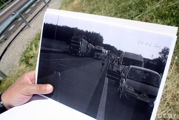 Репортаж с польско-белорусской границы: узкая дорога, 4,5 часа ожидания и «стукачество» поляков на белорусов (фото) - фото 5