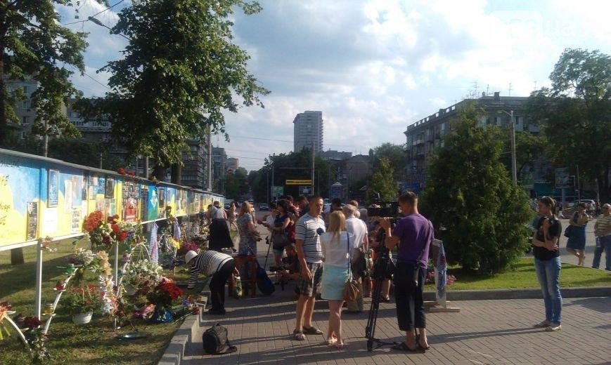 В Днепропетровске почтили память бойцов, которые погибли в сбитом ИЛ-76 (фото) - фото 2
