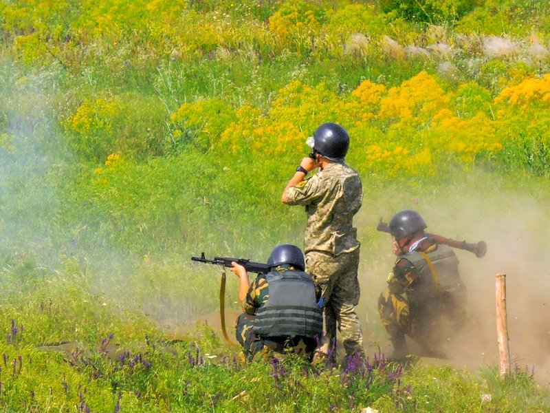 В Одессе ополчение роты охраны провело учения (ФОТО) (фото) - фото 1