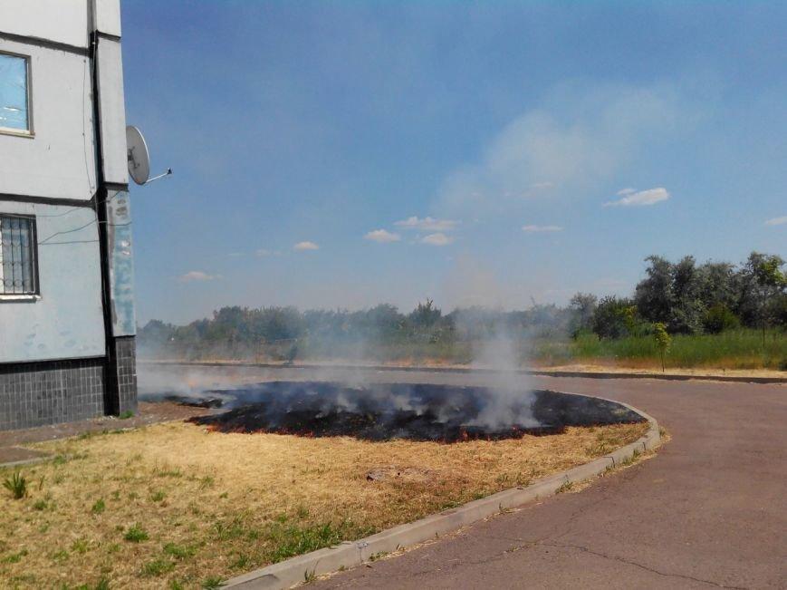 В Кривом Роге под жилым домом начался пожар  (ФОТО) (фото) - фото 1