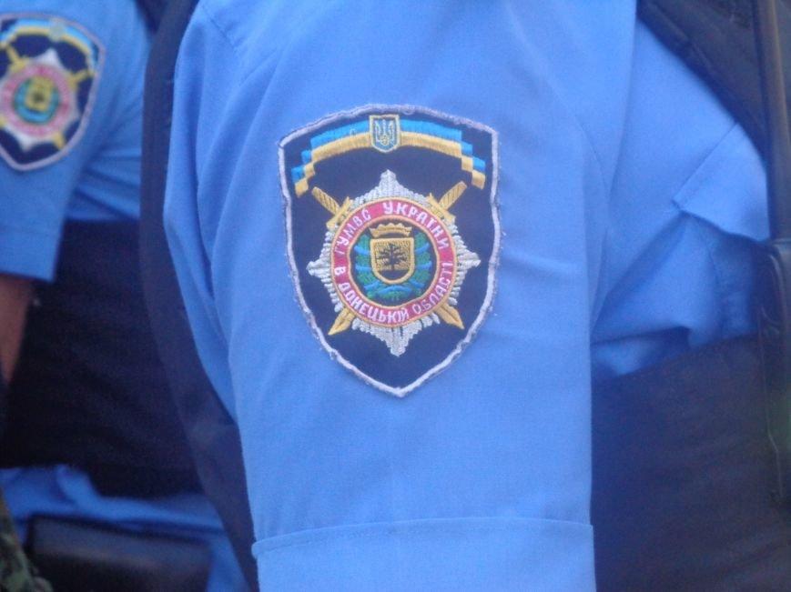 Традиционный инструктаж личного состава милиции на площади Шибанкова в Красноармейске (фото) - фото 3