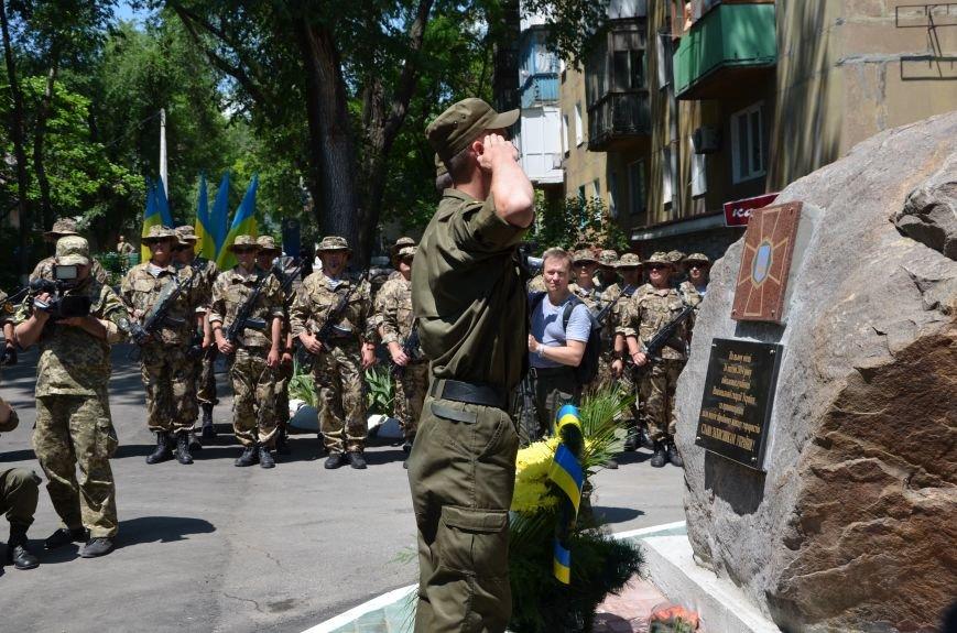 В Мариуполе открыли памятник героям, защитившим воинскую часть №3057 весной 2014-го (ФОТО), фото-16