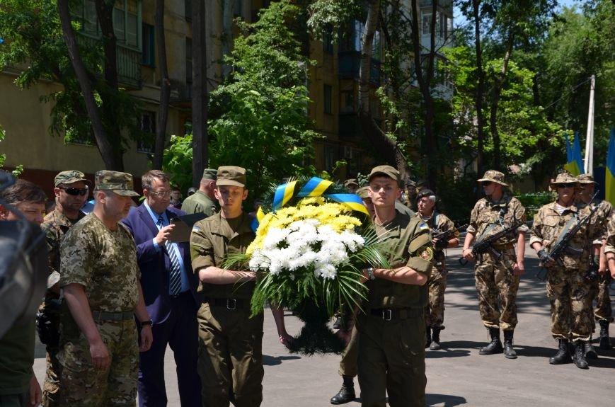В Мариуполе открыли памятник героям, защитившим воинскую часть №3057 весной 2014-го (ФОТО), фото-15