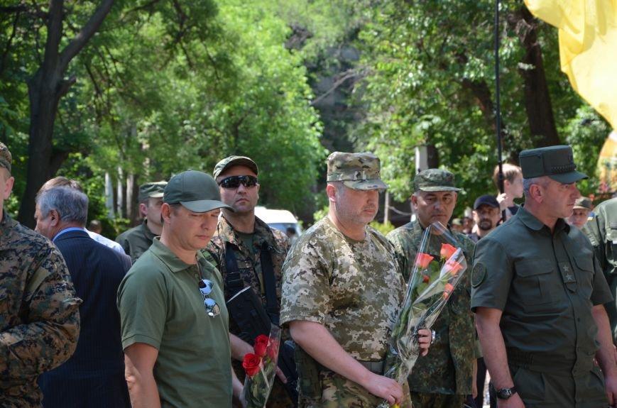 В Мариуполе открыли памятник героям, защитившим воинскую часть №3057 весной 2014-го (ФОТО), фото-8