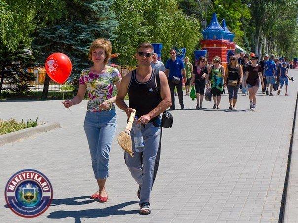 В Макеевке продолжается благоустройство «Северного» парка. На очереди - третий народный субботник! (фото) - фото 2