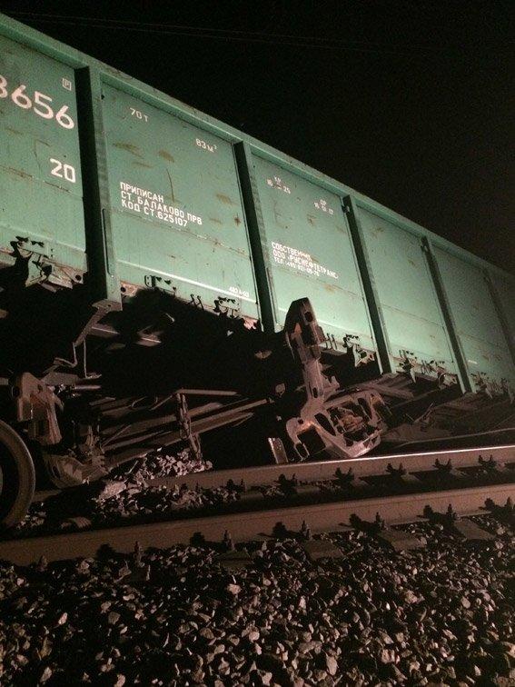 5 вагонов с рудным концентратом сошли с рельсов в Кривом Роге (фото) - фото 1