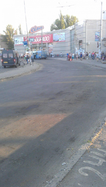 В Кривом Роге отремонтировали  дорожное покрытие на площади Освобождения (ФОТО) (фото) - фото 1