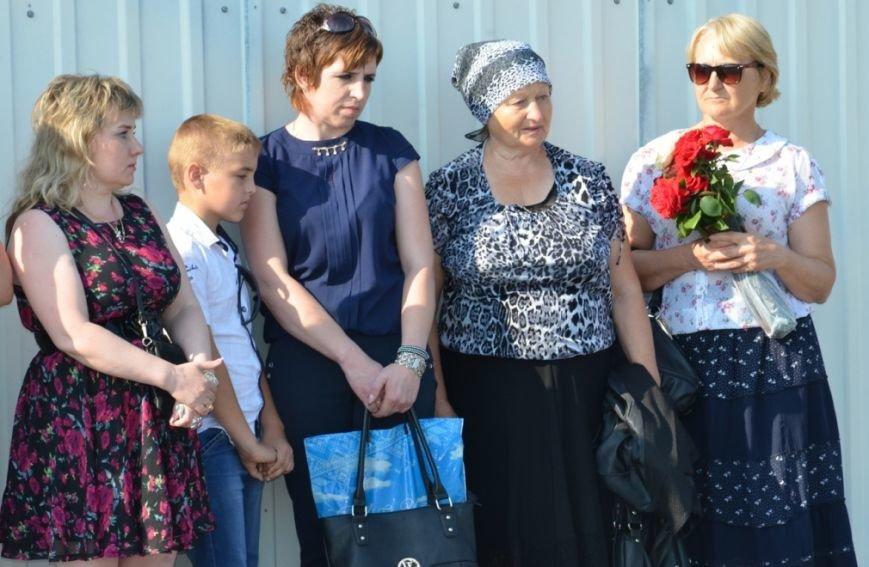 На Днепропетровщине почтили память десантников, погибших в самолете Ил-76 (фото) - фото 1
