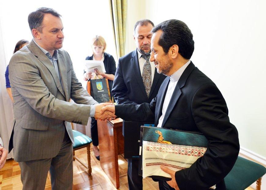 До Львова приїхав Надзвичайний і Поважний Посол Ірану в Україні (ФОТО), фото-3