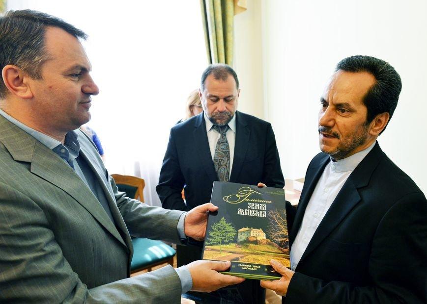 До Львова приїхав Надзвичайний і Поважний Посол Ірану в Україні (ФОТО), фото-1