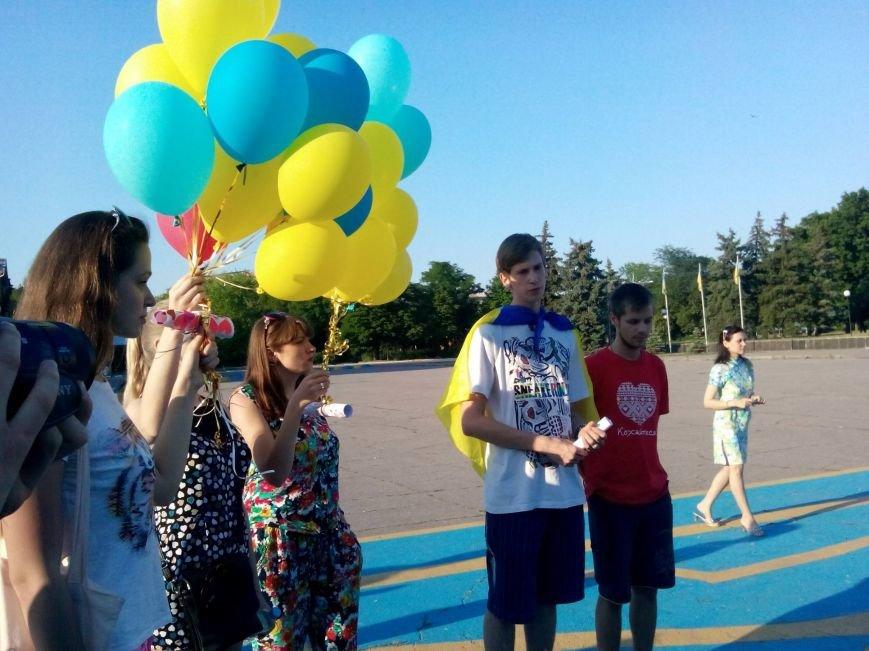 В Краматорске 49 секунд помолчали в память о погибших десантниках, фото-2