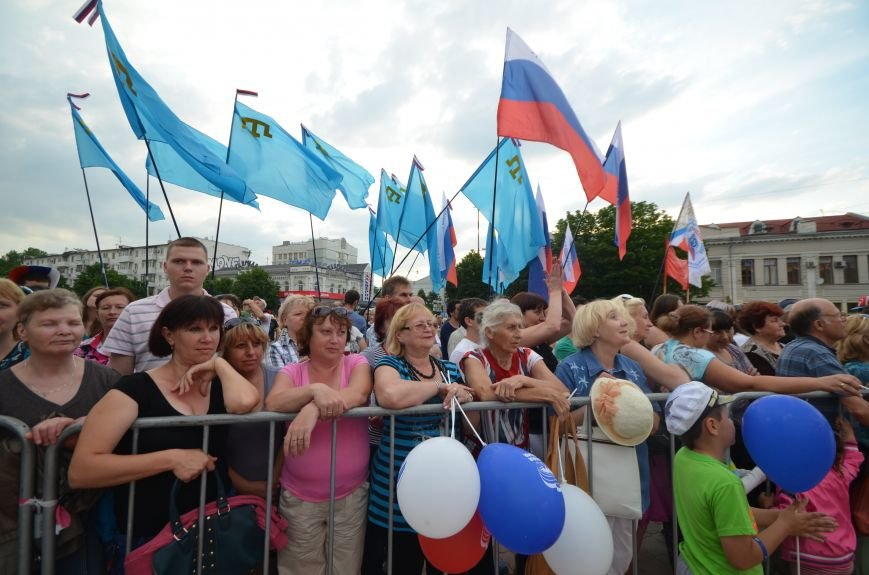 Как в Симферополе отпраздновали День России (ФОТО, ВИДЕО), фото-12