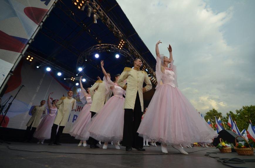 Как в Симферополе отпраздновали День России (ФОТО, ВИДЕО), фото-14