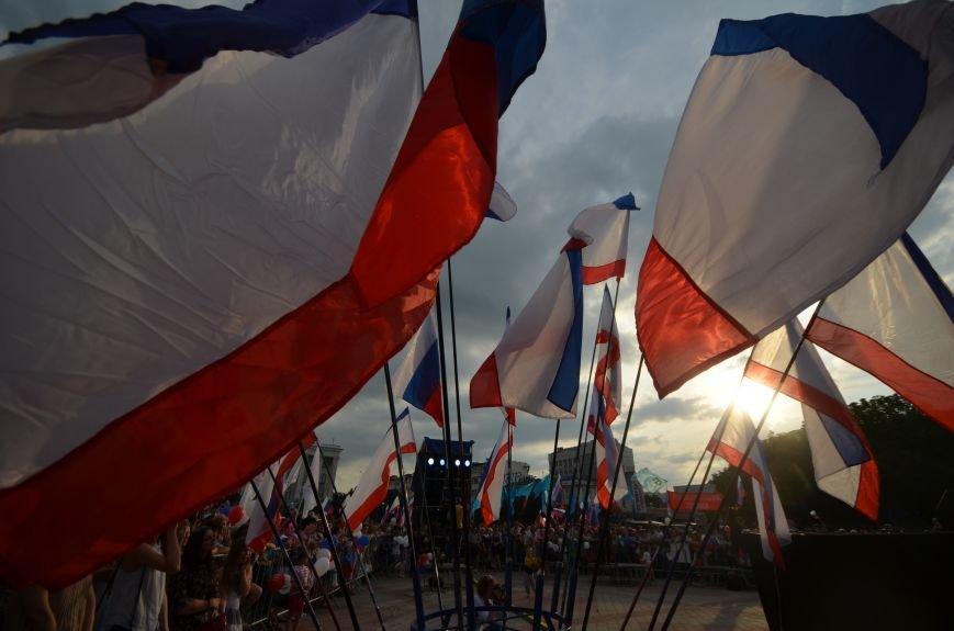 Как в Симферополе отпраздновали День России (ФОТО, ВИДЕО), фото-17